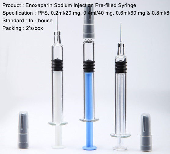 Enoxaparin Sodium Injection Heparin And Low Molecular Weight Heparin Pre-filled injection