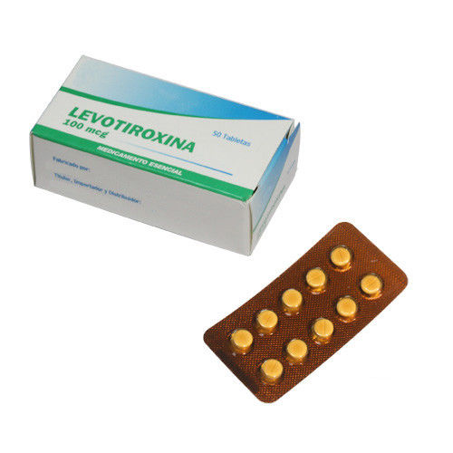 In - House Oral Medications Levothyroxine 100 Mcg Tablet Treat Hypothyroidism