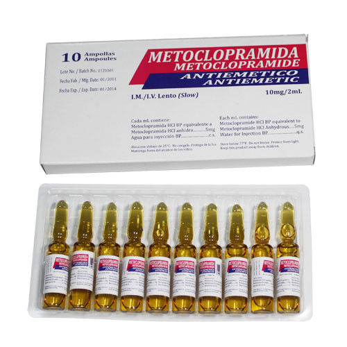 Metoclopramide Hydrochloride Small Volume Parenteral Intramuscular Administration