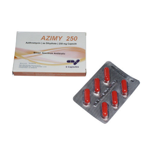 Oral Antibiotics Azithromycin 250mg Tablets 6 Pack / Macrolide Antibiotics
