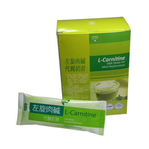 Gastric Nutritional Dietary Supplement L Carnitine Milk Shake for Meal Replacement