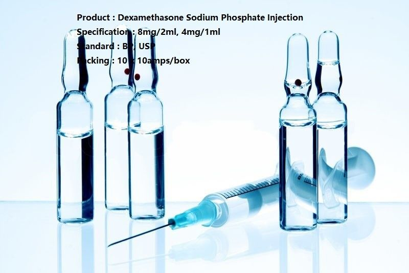 4mg/1ml Small Volume Parenteral Dexamethasone Sodium Phosphate Injection Dosage